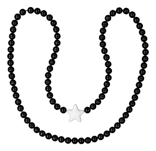 W WOOD TÄHTIRIPUSTIN / KIDS ROOM STAR HANGER (Black)