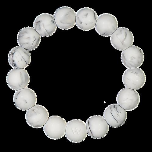 W PURE RANNEKORU / BRACELET - White edition (Marble)