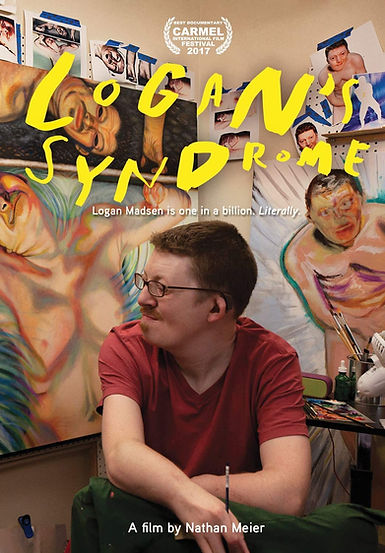 Award-Winning Documentay, LOGAN'S SYNDOME DVD Cover, Availlable on DVD and STREAMING, now!
