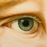 LOOK ME IN THE EYE, Painting by Logan Madsen Fine Art, SYNDROME PSYCHOLOGY Series, SHOP LMFA for GICLEE/PHOTO Prints