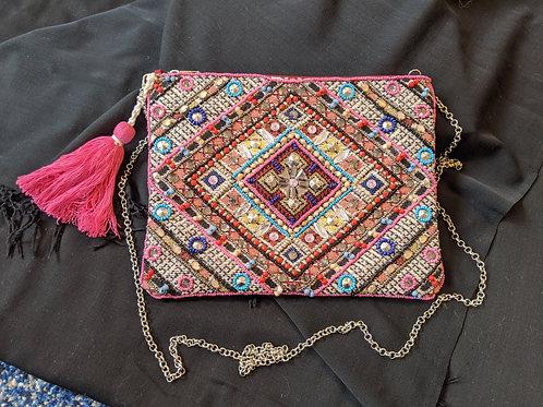Vintage Hand Beaded Bag