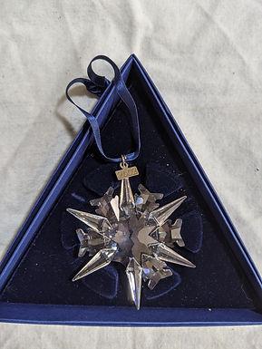 2002 Snowflake - Boxed Swarovski Annual Ornament
