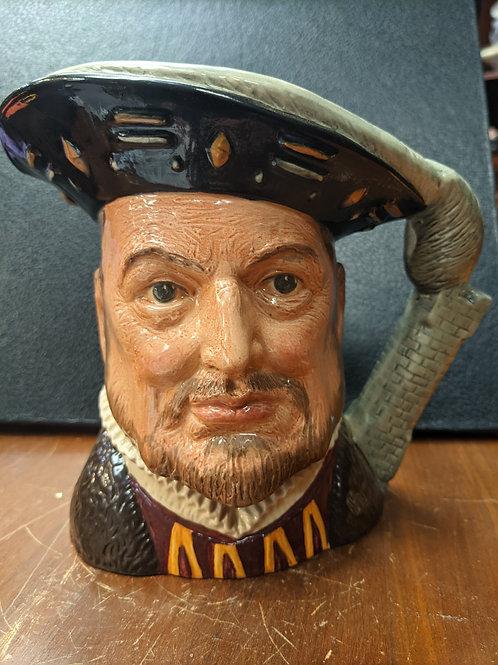 King Henry VIII Large Royal Doulton Toby Character Mug.