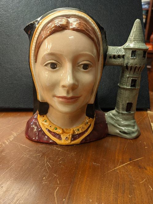 Catherine of Aragon Large Royal Doulton Toby Character Mug.