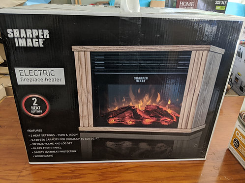 Sharper Image Electric Fireplace