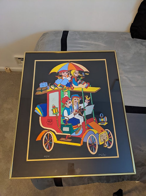Signed Limited Edition Artwork