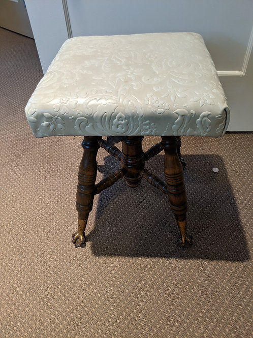 Claw Footed Stool