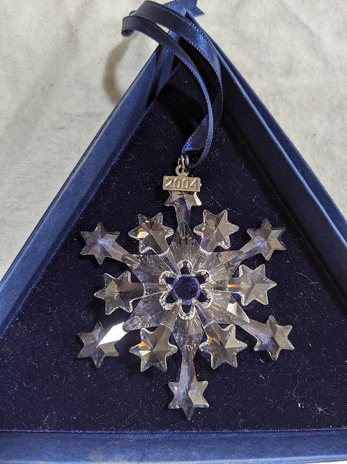 2004 Snowflake - Boxed Swarovski Annual Ornament
