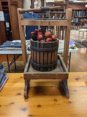 Antique Grape Press