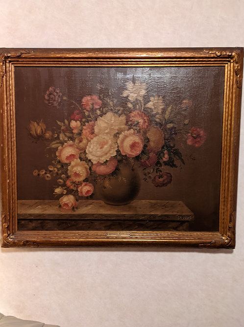 Framed Oil Painting on Canvas by Corbe