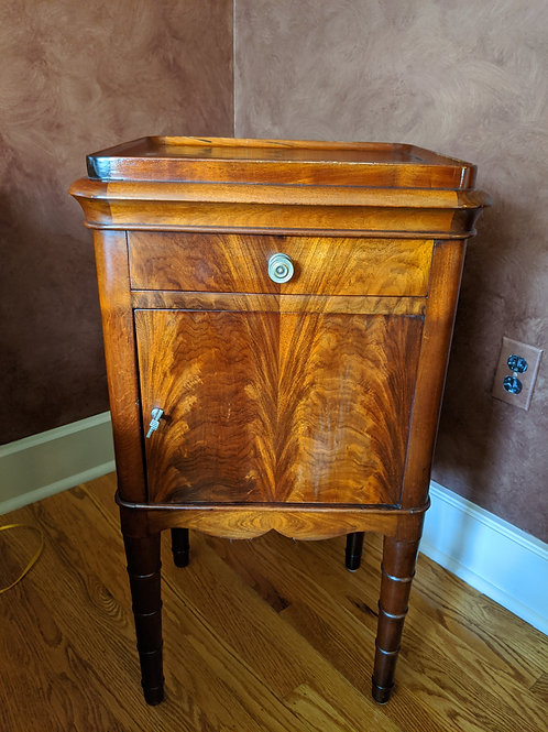 Pair of Antique Dutch Hand-Made Side Tables