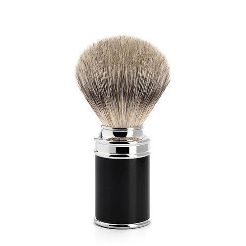 Zwart Scheerkwast Silvertip