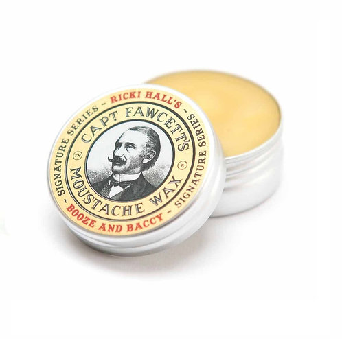 Booze & Baccy Moustache Wax 15ml