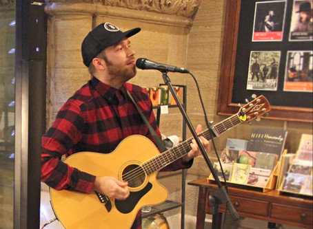 First Music Performance of 2019: Cory Breth