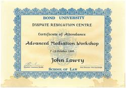Bond mediation 2