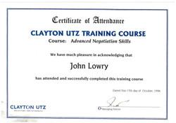 CU negotiation training