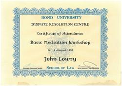 Bond mediation 1