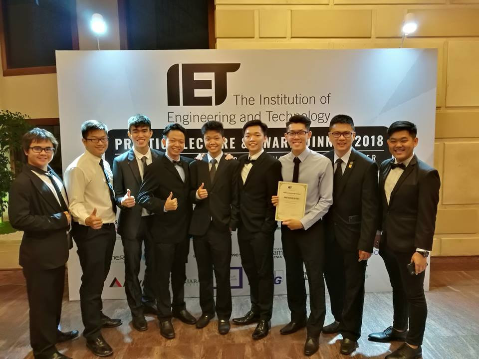 SSIET at the IET Malaysia Network Prestige Lecture and Award Dinner last night