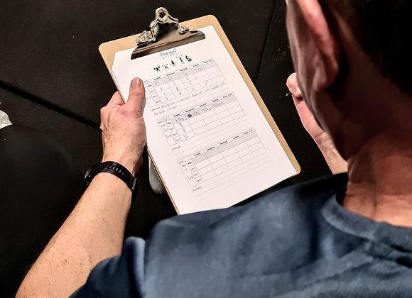 Flexibel Styrka - endast träningsplanering / månad