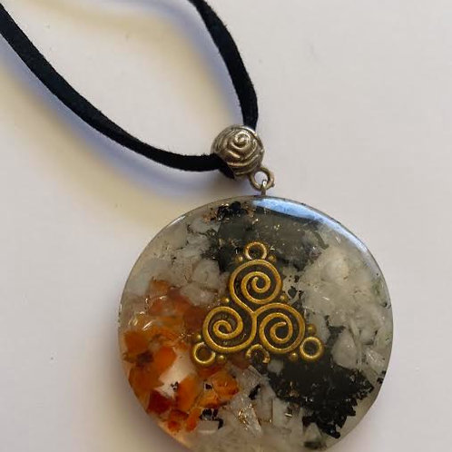 Mixed Stones Orgonite Necklace