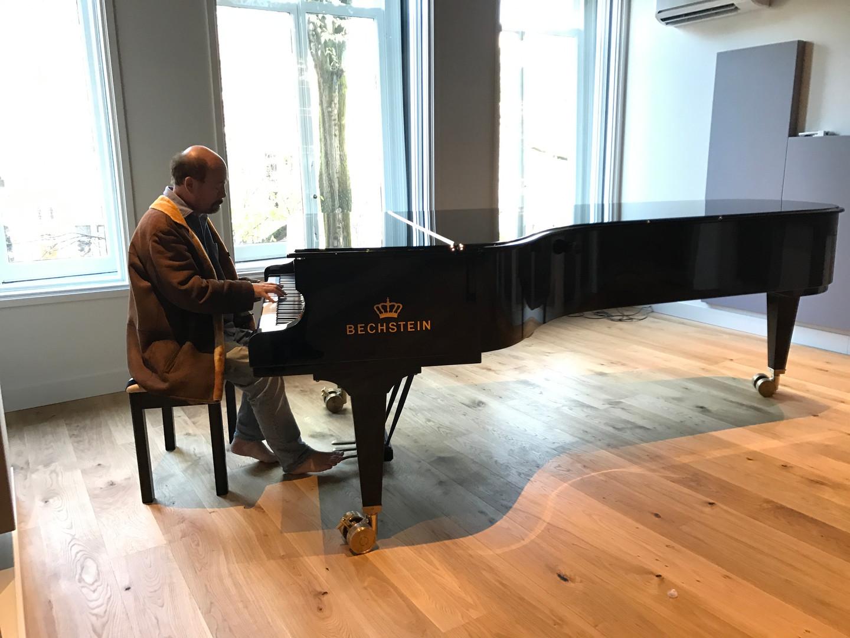 Amsterdam, Macbay Music studio.
