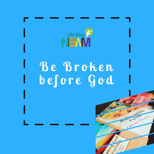 Be Broken before God