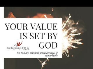 Your Value is Set By God