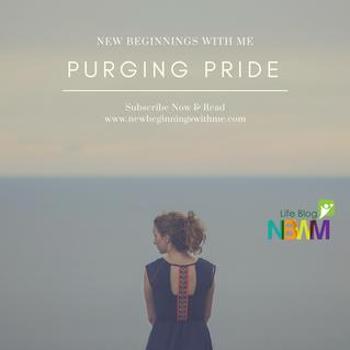 Purging Pride