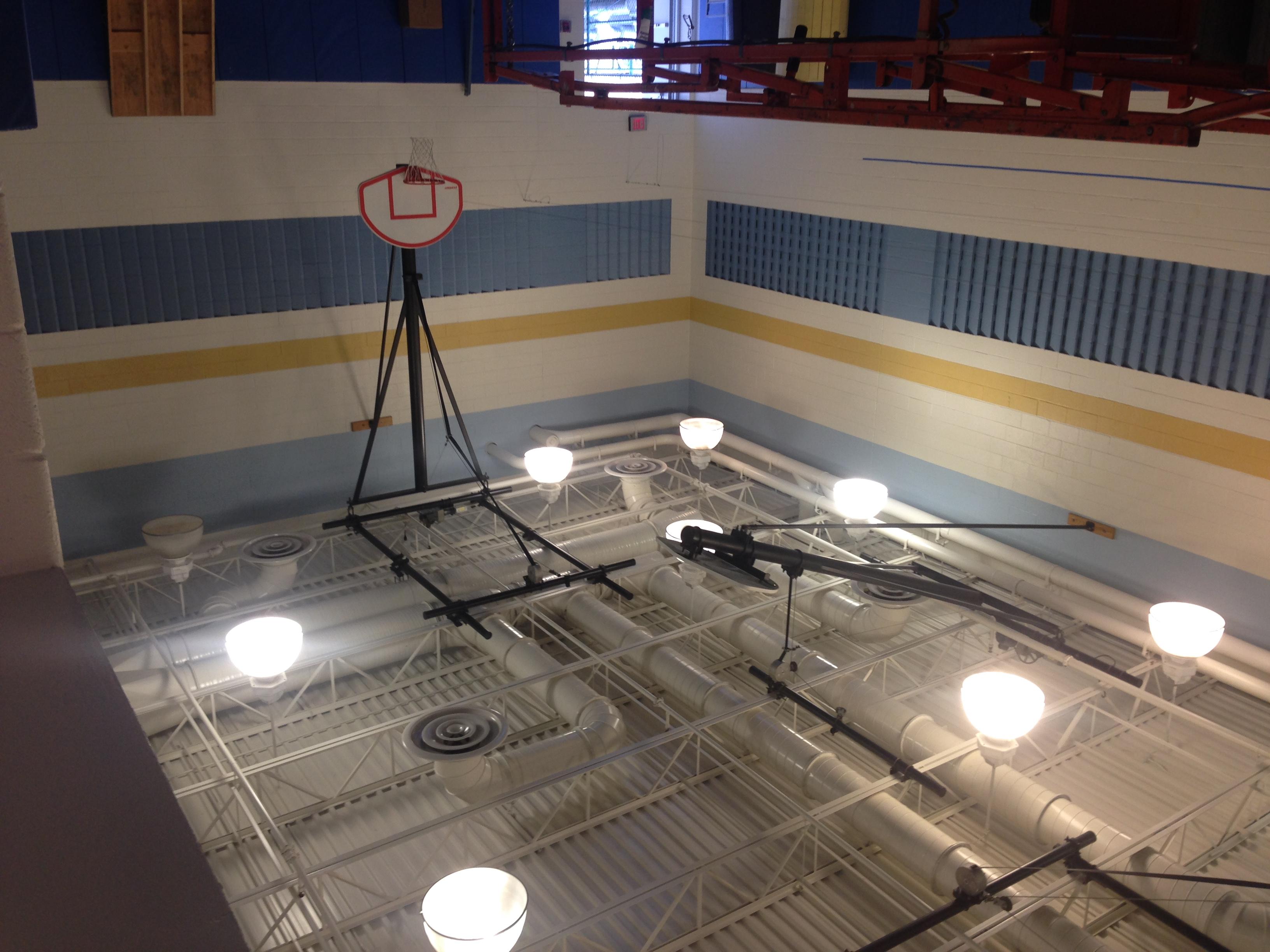 Gym Lighting Install