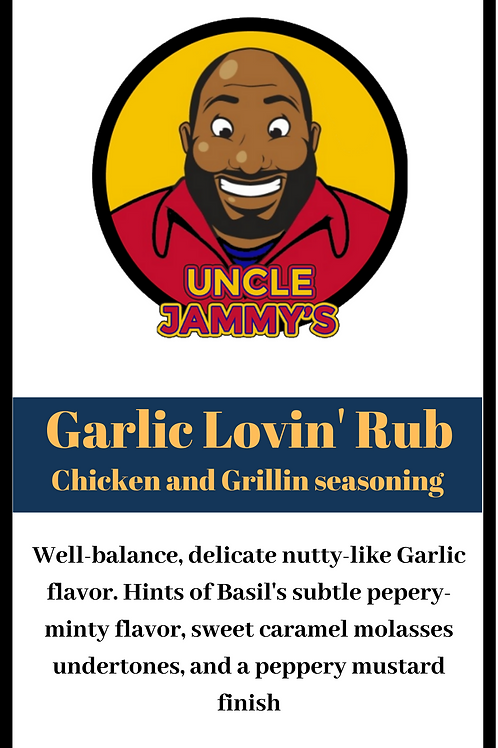 Garlic Lovin Rub