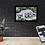 Thumbnail: LED Flächenleuchtbilder im Echtholz-Rahmen