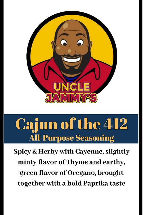 Cajun of the 412 Seasoning