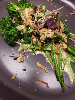Grilled brocollini