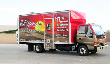 AC Solutions Air Conditioning Truck