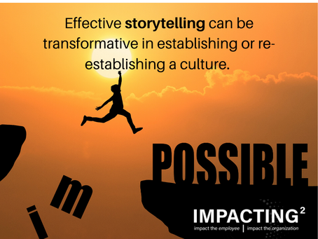 The Critical Skill of Storytelling in Culture