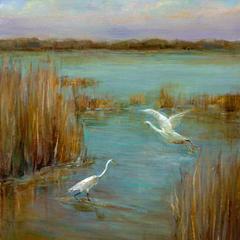 Frank Ferrone, Egrets at Lake Murray