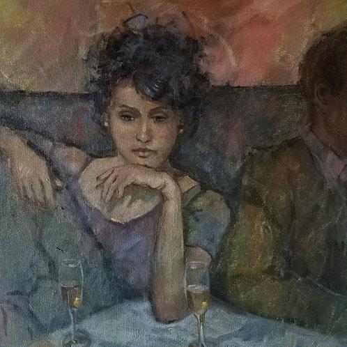"""Cindy Klong """"Wine Bar"""""""