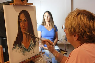 La Jolla Community Center art class