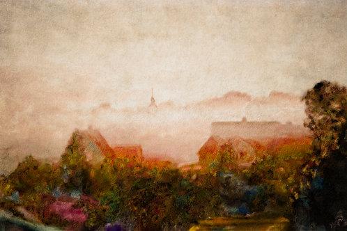 "John Valois  ""Village Fog"""