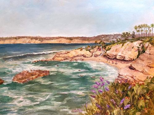 """Leah Higgins  """"Shell Beach, Summer 2019"""""""