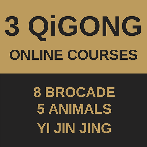QiGong Online Course - All 3 Courses