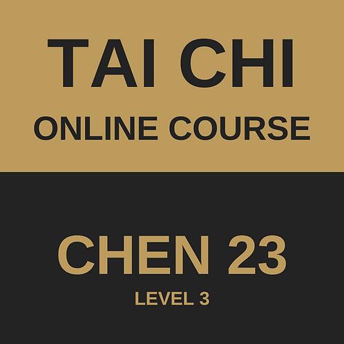 Tai Chi Chen 23 Online Course - All 4 Modules