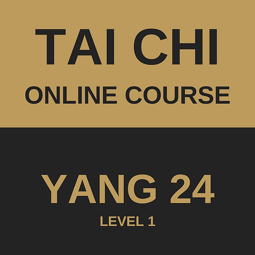 Tai Chi Yang 24 Online Course - All 4 Modules