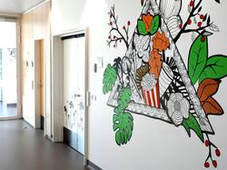 oh man productions-vægmaleri-Hospital Sønderjylland