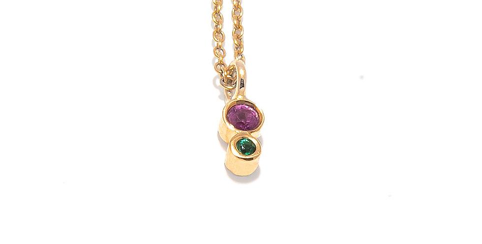 EDGE Miniature Color Necklace