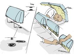 Oh man productions-Illustration-SDSI den Psykiatriske senge