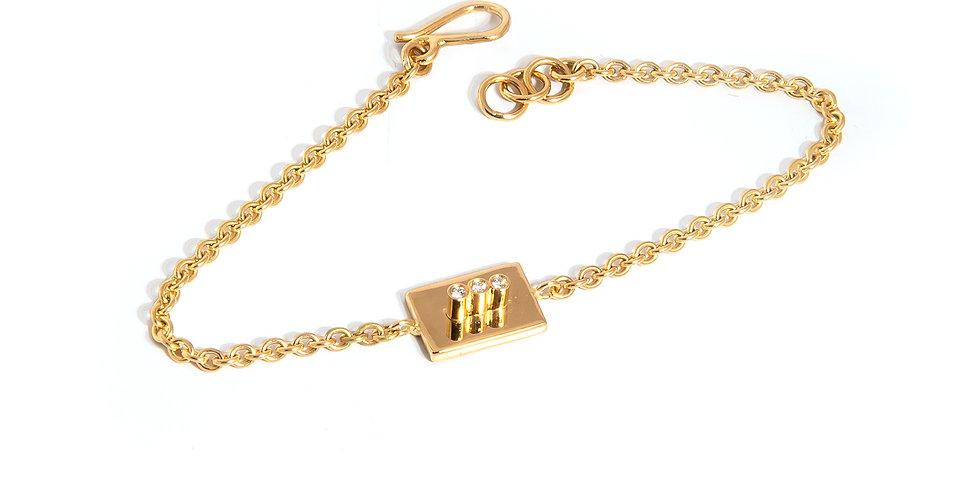 Edge Bracelet Diamonds