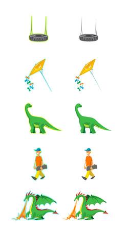 Illustrationer til folkenskolen