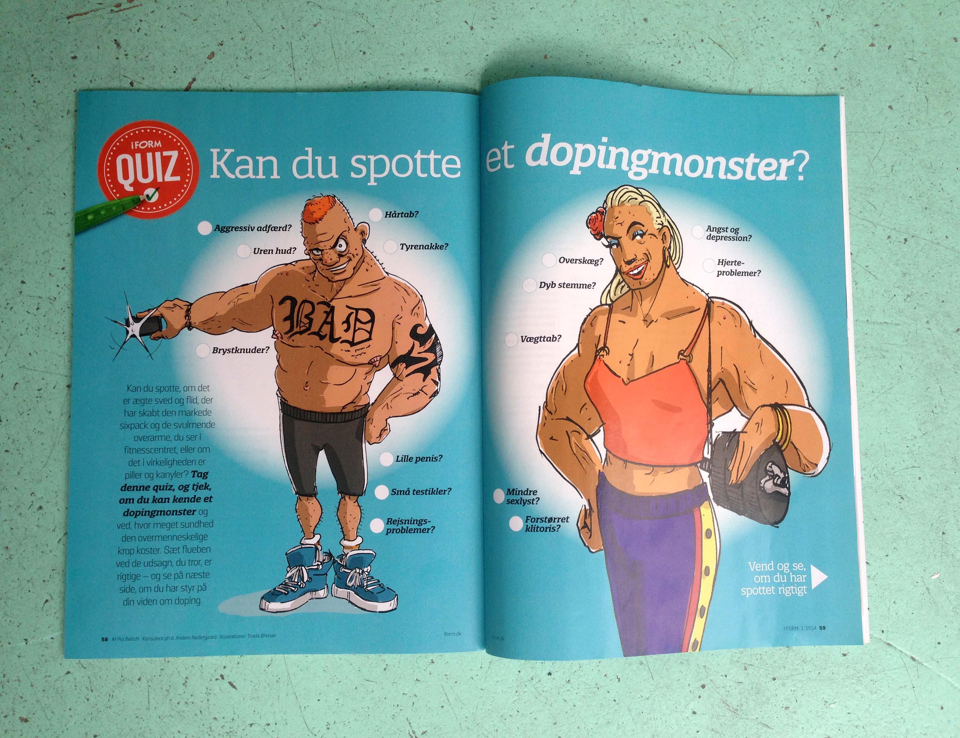 Kan du Spotte et dopingmonster