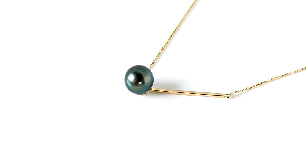 Edge Necklace Green